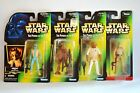 Star Wars Power of the Force Action Figures  1995  Kenner  Sealed on Card