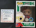 Funko Pop Stan Lee 03 Comikaze Exclusive Signed With POP COA & Protector Marvel!