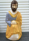 Empire Nativity Blow Mold Rare 39 Height Joseph Yard Light Christmas Decoration
