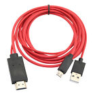 MHL Micro USB to HDMI Cable 1080p HDTV Lead for HTC Amaze 4G Sensation XE