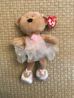 Ty Beanie Baby Pirouette 2005. Faded Stain on the Front. Very Good Condition.
