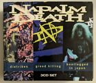 Diatribes/Greed Killing/Bootlegged In Japan by Napalm Death (3CD, 2010, Earache)