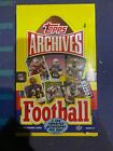 2013 Topps Archives Factory Sealed Hobby Box Football NFL 2 Autographs
