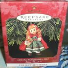 Little Red Riding Hood`1991`Madame Alexander,Hallmark Christmas Ornament-Its New