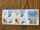 2014 Winter Fun Booklet of 20 4937 4940 Regular