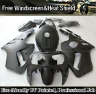 Matte Black For Kawasaki Ninja ZX12R 2000-2001 Fairing Kit ABS Body Work ZX1200A