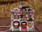 Lot 8: Lemax Caddington Christmas village Engine House No. 8 GREAT CONDITIO Used