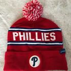 NWOT MLB Philadelphia Phillies SGA 2017 Opening Day Red Knit Hat Cap Beanie