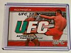 Rich Franklin Cards and Autographed Memorabilia Guide 22