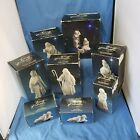 VINTAGE AVON NATIVITY SET COLLECTIBLR 9pc WHITE PORCELAIN LARGE SIZE 81 +