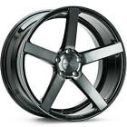 4 Staggered 19x8.5 / 19x10 Vossen CV3R  Black Tint 5x112 +45/+50 Wheels Rims