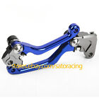 Brake Clutch Levers For YAMAHA WR250F	2005-2016 WR450F	2005-2015 Blue