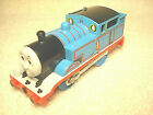 2002 TOMY THOMAS & FRIENDS #1 THOMAS BLUE TRACKMASTER MOTORIZED TRAIN ENGINE