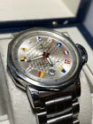 Corum Admiral's Cup 082.830.20 Automatic 41mm Watch Flag Vintage Steel Rubber