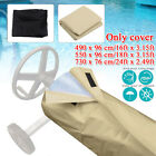 Swimming Pool Solar Reel Protective Cover for Above Ground and Inground Pools