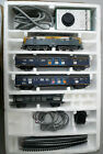 Vintage HO OO Model Dutch passenger train Loco 3 carriages power track