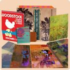 woodstock back to the garden box set 38 cd like new with lithographs