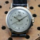 MIDO VINTAGE GENTS MULTIFORT GRAND LUXE SUPER AUTOMATIC 1940s RUNNING LEATHER