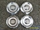 1957 Oldsmobile Custom Cruiser Starfire Fastback Dog Dishes Wheel Hubcaps Set