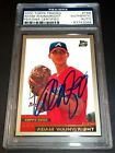 (RARE) PSA DNA Rc Adam Wainwright Auto 2000 Topps Traded Rookie Signed Autograph