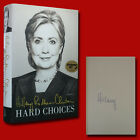 Hard Choices by Hillary Clinton 2014HC1st 1st SIGNED BRAND NEW
