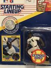 1991 Tim Raines Chicago White Sox starting lineup Baseball figure card toy coin