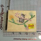 Stampabilities Rubber stamp You Can Light The Way House Mouse Stamp New 2009