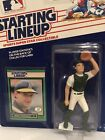 1989 Starting Lineup Terry Steinbach figure Card toy Oakland Athletics A's SLU C