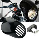 Front Cowl Headlamp Visor Headlight Fairing Mask For Harley Sportster Dyna XLH