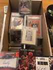 1,000+ Card HUGE AUTO GAME JERSEY INSERT ROOKIE VINTAGE 1970s-2000s LOT