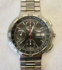 Longines Conquest Edelstahl Chronograph Automatic Orig. Edelstahlband Day Date