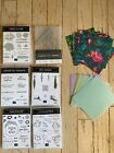 STAMPIN UP RETIRED 2020 SALEABRATION STAMPS DIES EMBELLISHMENTS LARGE LOT