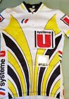 VINTAGE SYSTEME U CYCLING TEAM JERSEY LAURENT FIGNON SIZE SMALL NOS