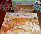 Manger Scene Christmas Nativity 100 piece puzzle Springbok Complete