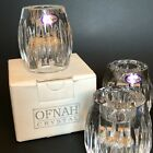Ofnah Poland Crystal Candleholders Convertible Votive Or Taper Set Of 4