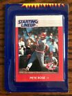 1988 Kenner 'Hit King' Pete Rose Rookie Starting Lineup Card Mint In Package
