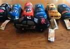 NASCAR Beanie Racers 1998 Series Lot Of 7 Plush Cars Goodwrench Kodak Tide