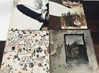 ALL Original LED ZEPPELIN I II III IV (1-4) ULTIMATE Record Collection MUST SEE!