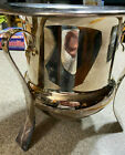 SSS Inc Large Quadruple Silver Plate Footed Basin Ice BucketBowlCenterpiece