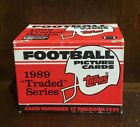 1989 Topps Traded Set (132) FOOTBALL CARDS COMPLETE SET SANDERS ROOKIE * MINT *