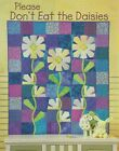 PLEASE DONT EAT THE DAISIES Foundation Piecing Quilt Pattern from Magazine