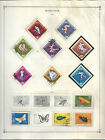 Romania Stamp Collection From 1963 1965 83 Stamp Lot of Scotts Inter Album