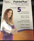 WEIGHT WATCHERS POINTS PLUS FITNESS SERIES 5 DVD SET my ww VG CONDITION