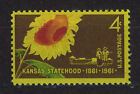 ESTADOS UNIDOS USA 1961 MNH SC1183 Kansas Statehood