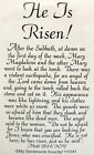 My Sentiments Exactly UnMounted Rubber Stamp YY241 He is Risen