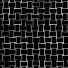 Andover Opposites Attract Basketweave Black Geometric 100 Cotton 44 45A 9059 K