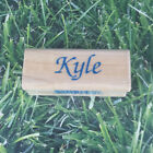 Inkadinkado Kyle Name Rubber Stamp Wooden Mounted