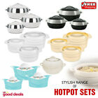 3Pc 5Pc Casserole Pan Insulated Cold Warm Food Serving Dish Bowl Thermal Hotpot