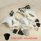 Unpainted White Fairing BodyWork Set For Honda VFR800 VFR 800 2002-2012 2011 10