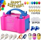Electric Balloon Pump Portable 160+ Piece Bundle NEW BIRTHDAY KIDS inflatables